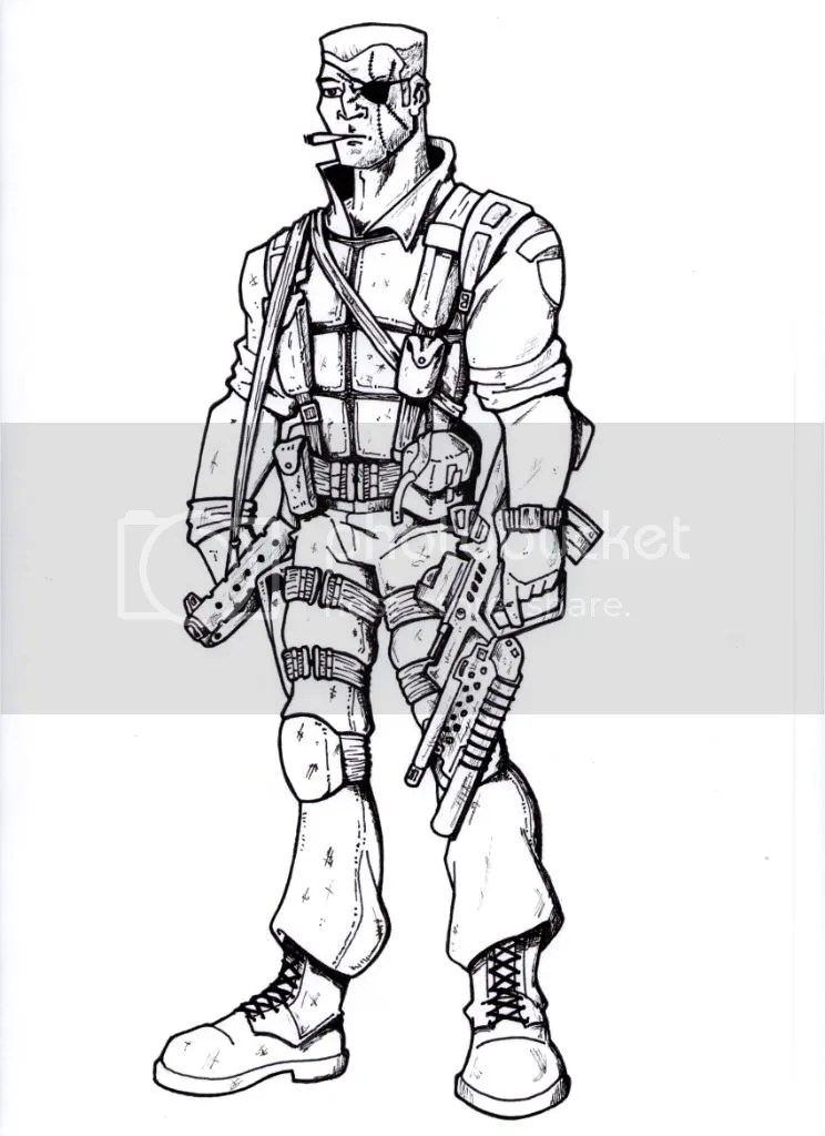 nick fury avengers coloring pages nick fury
