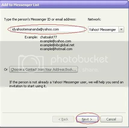 cara chatting yahooo messenger