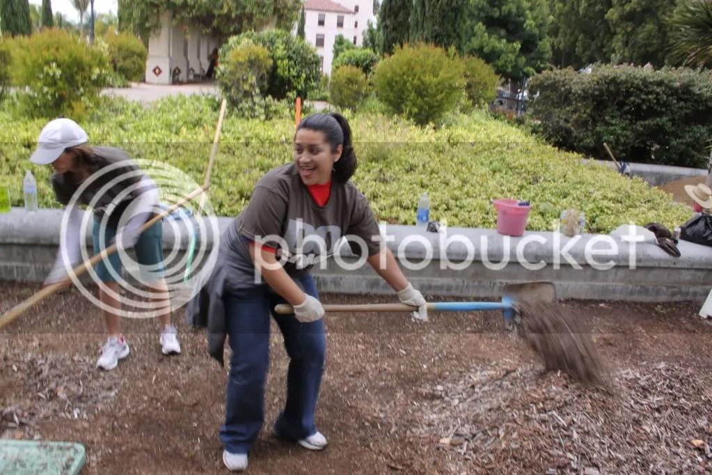working  Balboa Park
