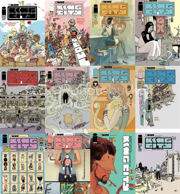 King City Image series covers