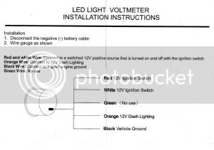 Autometer Volt Gauge Wiring Diagram, Autometer, Free Engine Image For User Manual Download