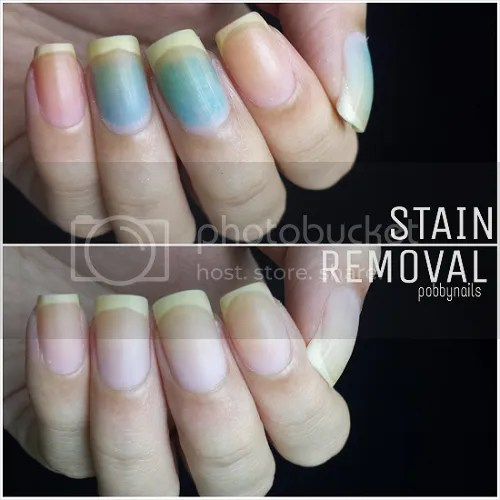 Stain Removal Pobbynails