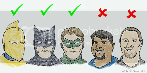 Sorry Sean and Jim, no JLA membership for you.