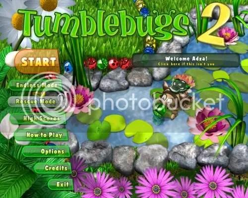 ZumaTumblebugs2 Start Portable 3 Boyutlu Tumblebugs Oyununu İndir