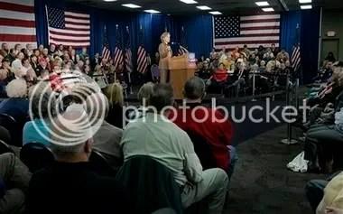 Senator Clinton in Waterloo, IA