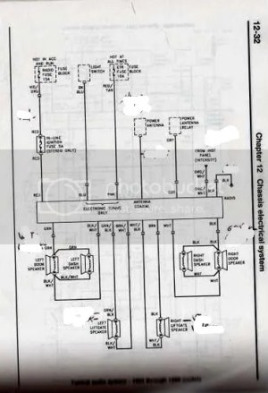 Radio Troubles; Need Wiring Diagram: 1988 Jeep Cherokee