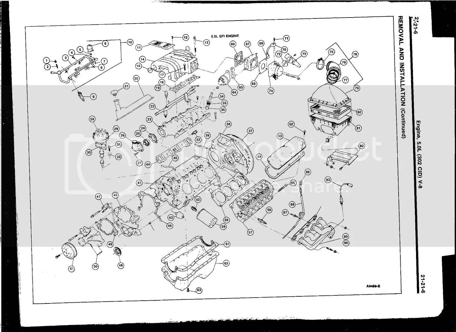 Diagram Or Picture Of 302 Assembly Front Accessories