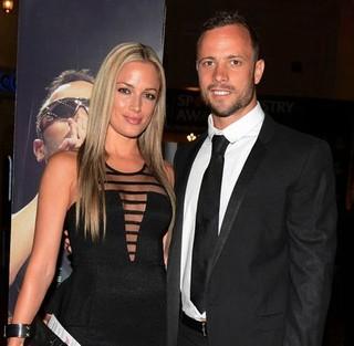 Oscar Pistorius si Reeva Steenkamp pe vremea cand alcatuiau un cuplu fericit