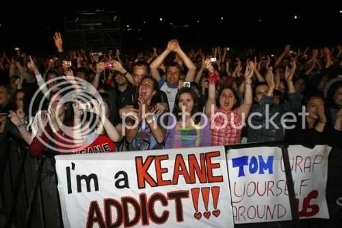 Im a Keane Adict Fan