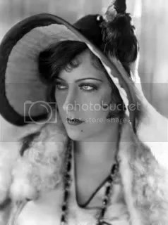 Gloria Swanson looking fabulous and hard-nosed and American