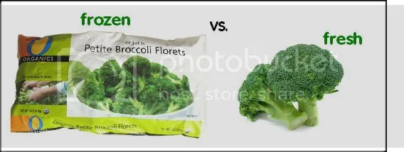 Fresh Broccoli vs. Frozen