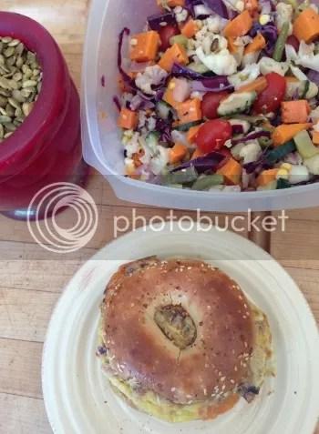 Breakfast Sandwich with Melange