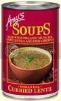 Amy's Curried Lentil Soup