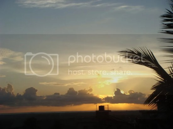 Can you see the Sea?; Manipal Sunset Photo