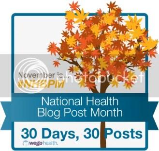 National Health Blog Post Month Banner