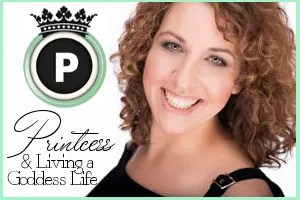 Printcess & Living a Goddess Life