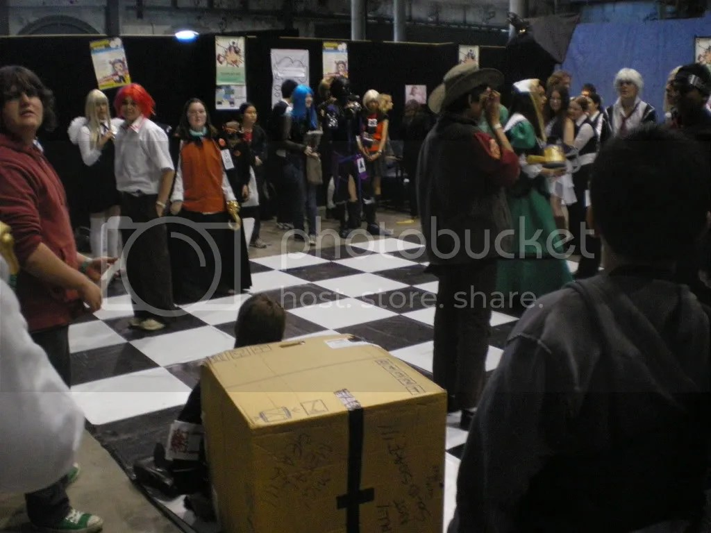 Cosplay Chess in action