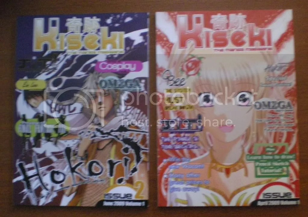 Kiseki Manga Magazine - Volume 1 and 2