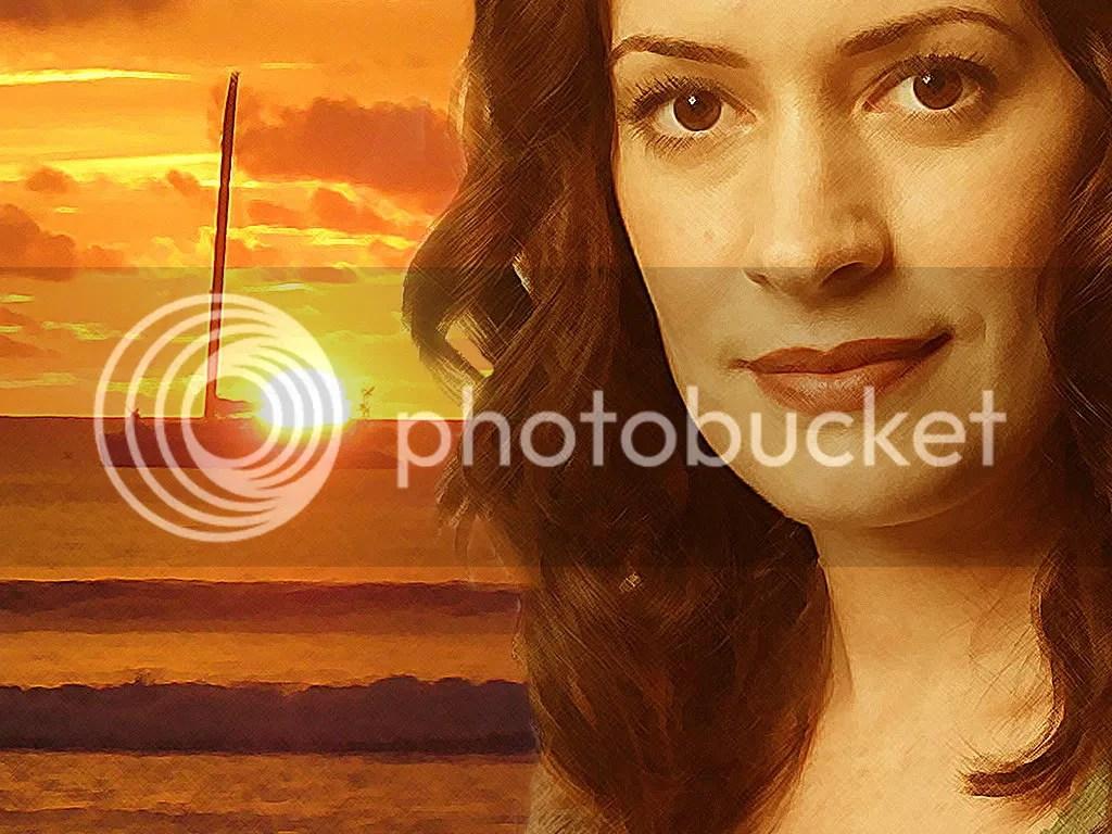 Paget Brewster - Sunset set