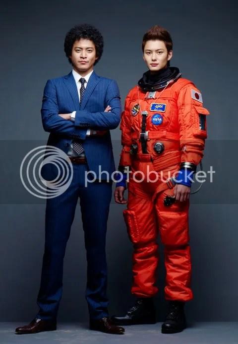 Shun Oguri and Masaki Okada in Space Brothers