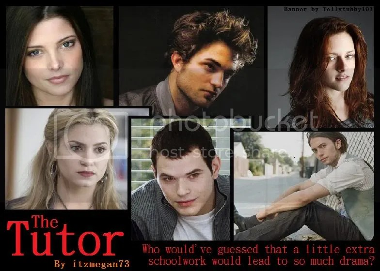 twilight fanfiction banner photo: The Tutor Banner TheTutorBanner.jpg