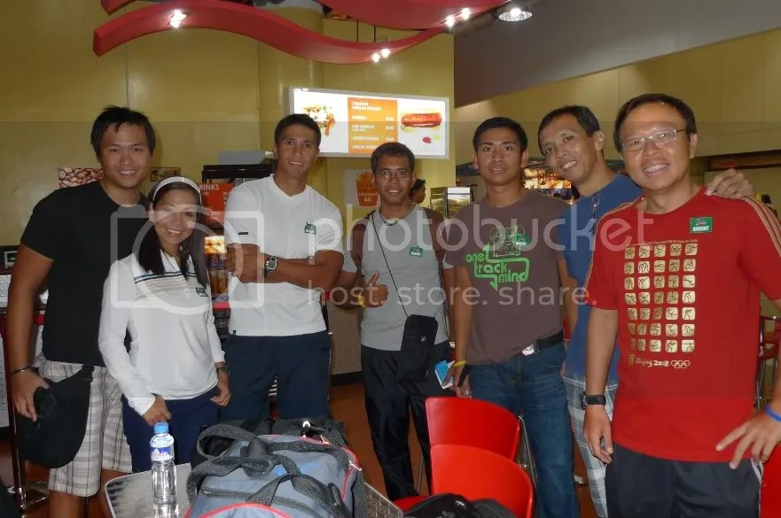 Team Believstrong members, Aumar, Melody, Philip, Pastor Ernie, Jason, Me and Hans