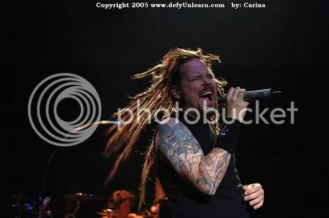 I also like Korn's lead singer. I love the tattoos.