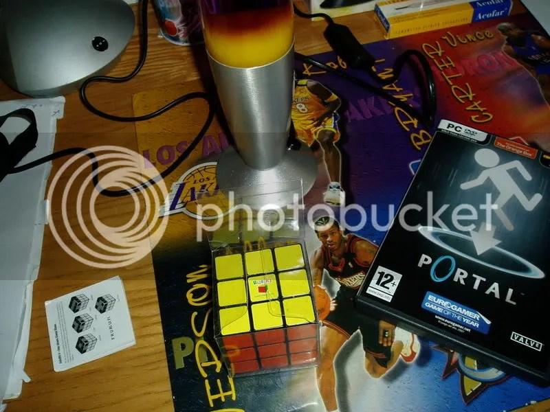 Mi cubo de Rubik ha llegado