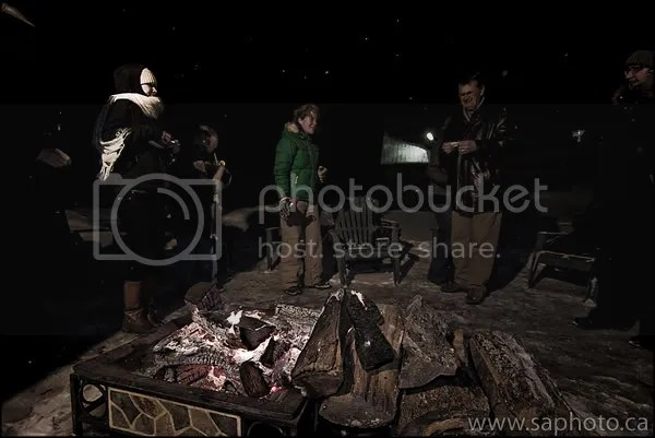 Bonfire at the Grand Lodge Copyright SAphoto