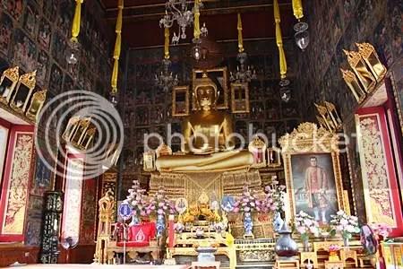พระประธานในพระอุโบสถ