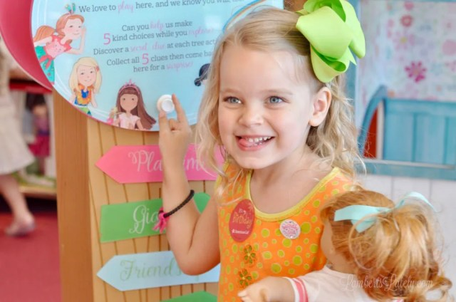 American Girl Store tips || Houston, Texas trip || American Girl birthday || Awesome AG Doll Displays || Maryellen Larkin ||  Bistro Menu || Doll Hair Salon