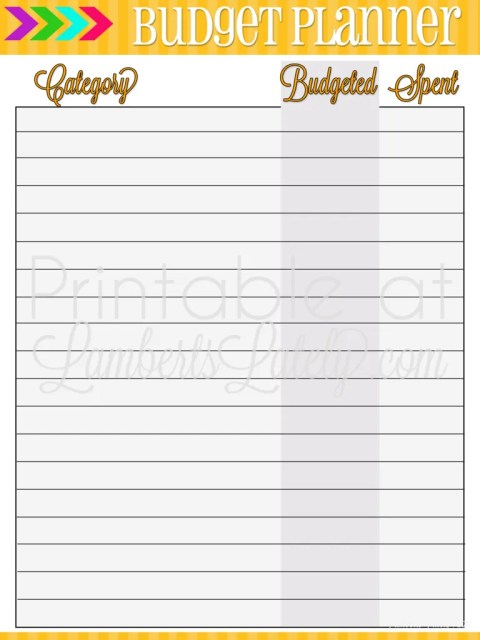 Free Budget Printable || Organizing Finances || Ultimate Planning Notebook Pages || Monthly Planning || Organizing Templates || Weekly Budgeting for Beginners