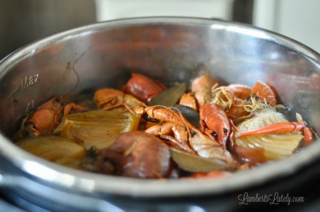 How To Make Crawfish Shrimp Stock In The Instant Pot Lamberts Lately