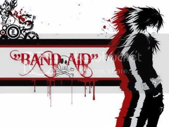 Band Aid photo: band aid layout DeathNote-2.jpg
