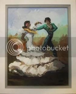 Painting purchased in Puerto de la Cruz