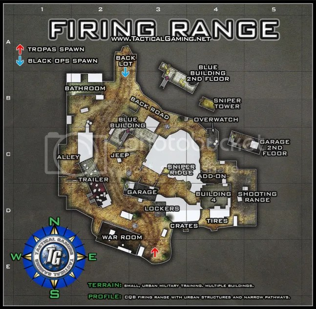 Black Ops Map Callouts :: FiringRange.png picture by xECxAcid - Photobucket