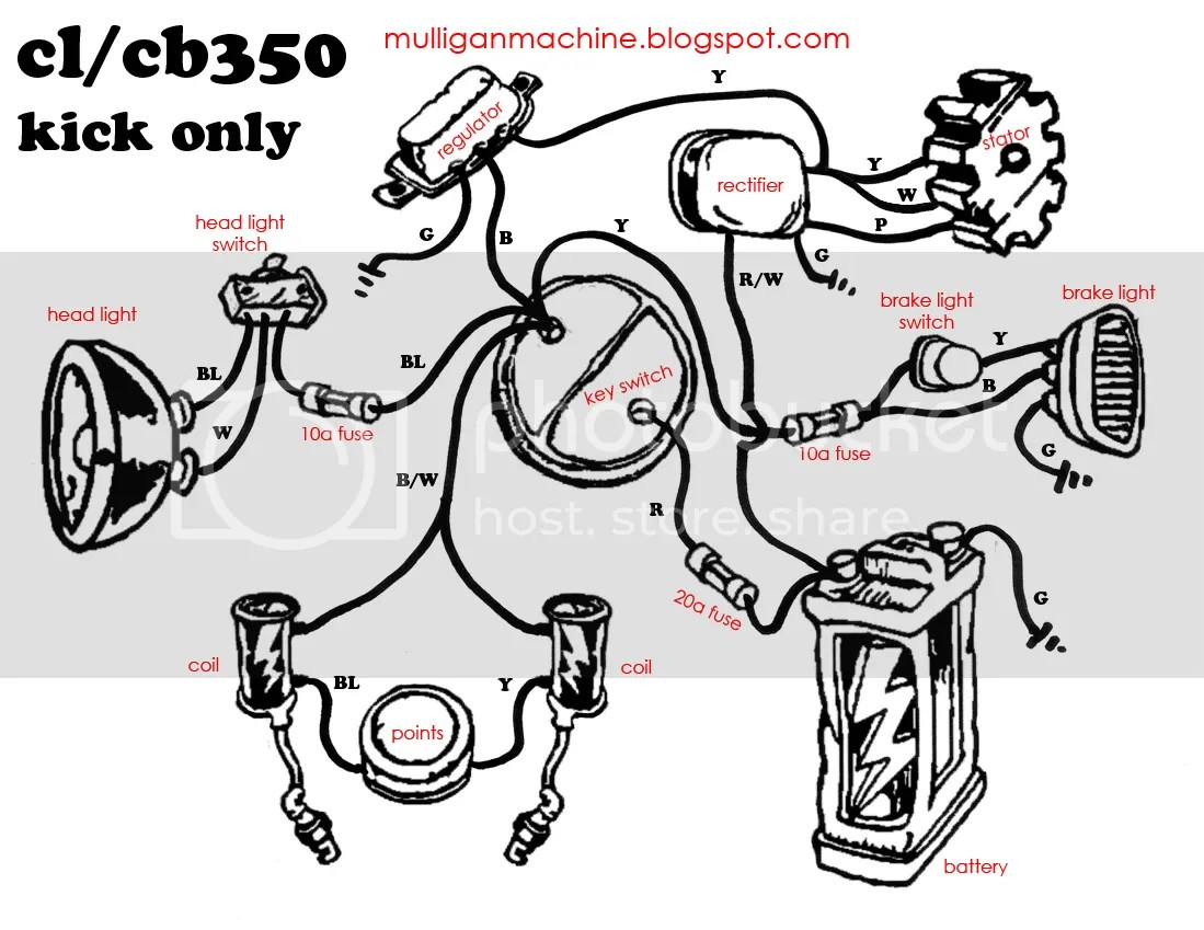 Cb160 Wiring Diagram
