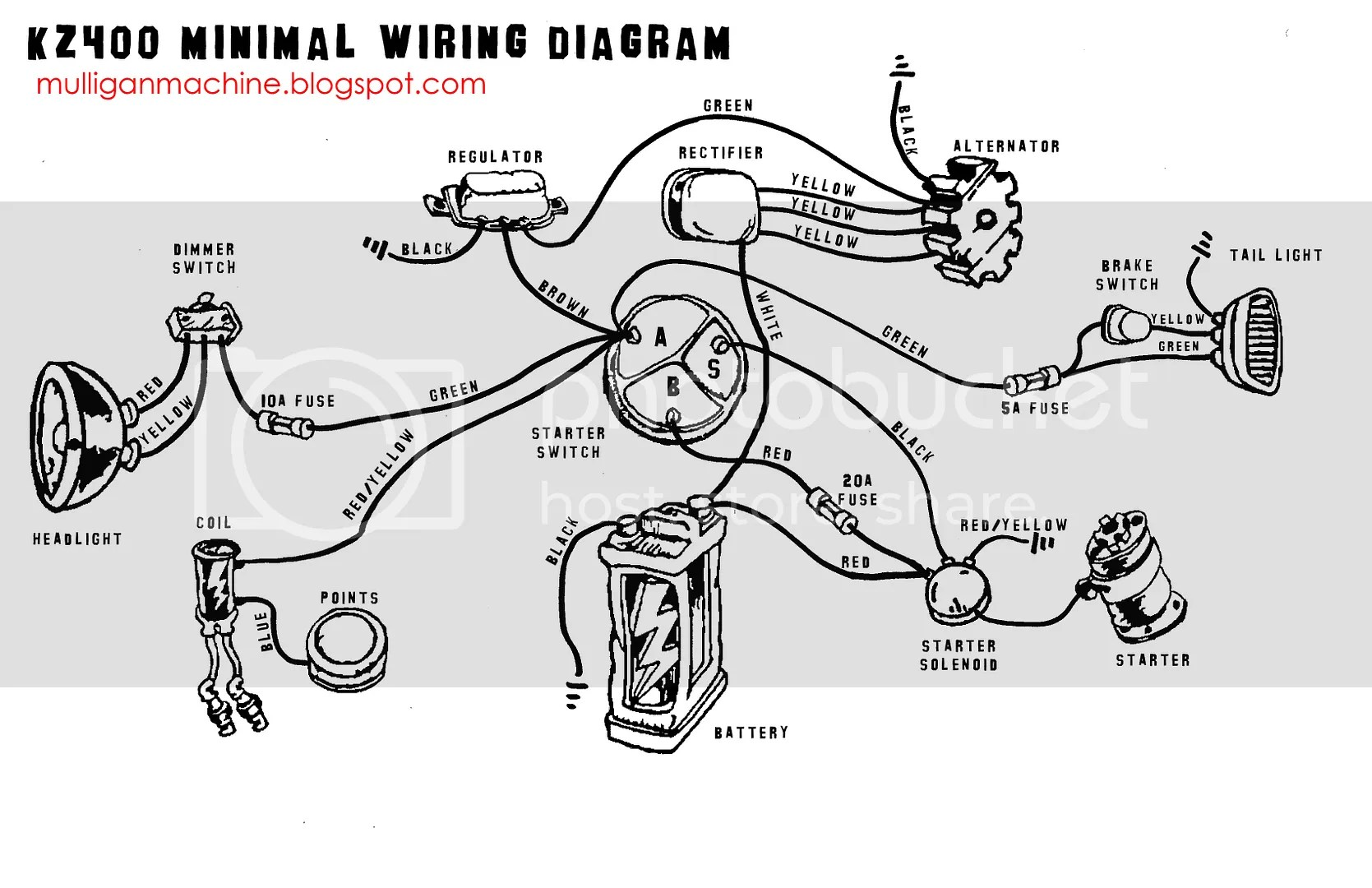 Will This Diagram Work For A Kz400