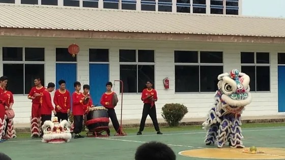 Lion Dance, Chap Goh Mei 2016, Chinese New Year 2016, Imlek 2016, Brunei, Chinese School, Seria