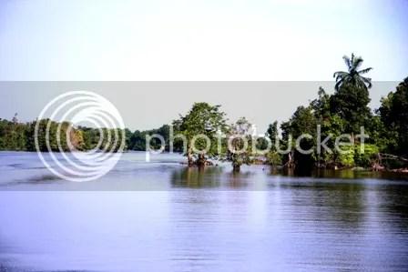 Kedamaian disisi sungai