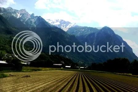 Kebun, Gunung dan Salju di Vaduz