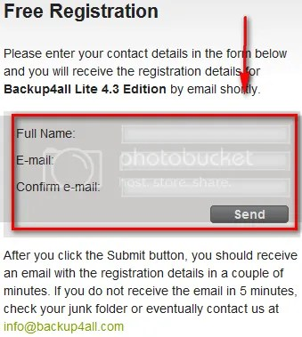 Bản quyền Backup4all Lite v4 miễn phí