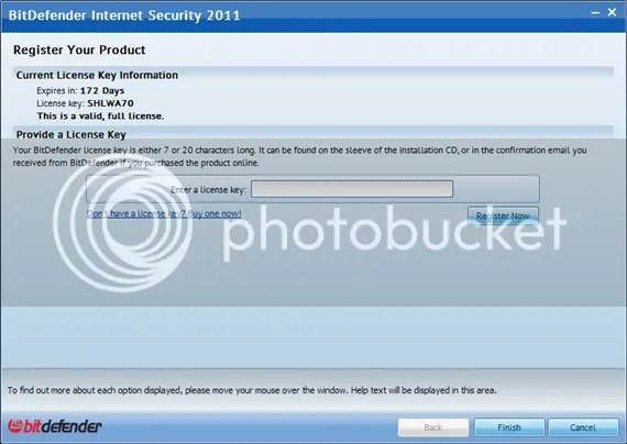 BitDefender Internet Security 2011 miễn phí 6 tháng