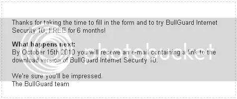 Bullguard Internet Security 10 với key bản quyền miễn phí 183 ngày