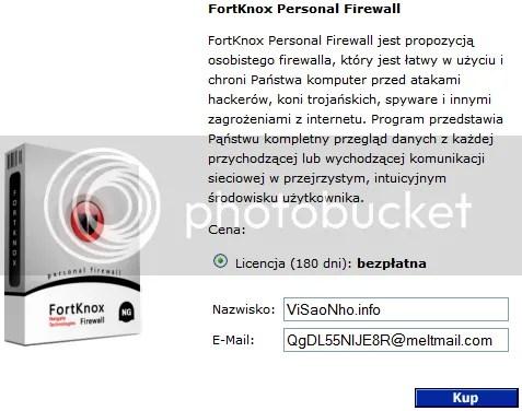 Bản quyền FortKnox Personal Firewall miễn phí