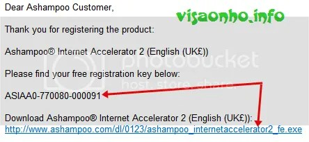 Bản quyền Ashampoo Internet Accelerator 2.2 miễn phí