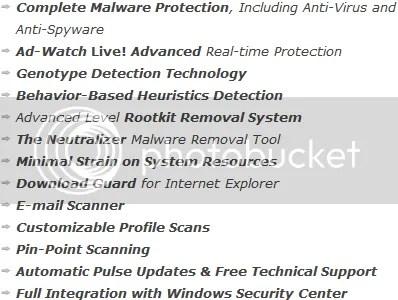 Lavasoft Ad-Aware Plus 8.2: Chỉ miễn phí trong vòng 24 giờ, hôm nay !