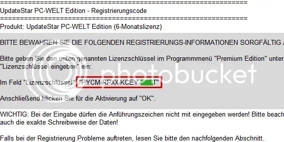 Bản quyền UpdateStar Premium Edition 5.1.986 miễn phí 6 tháng