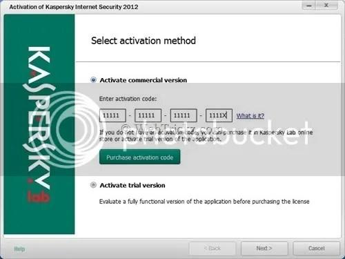 Cách kích hoạt bản quyền Kaspersky 2012 bằng key file