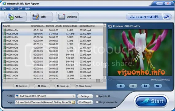Download Aimersoft Blu Ray Ripper miễn phí